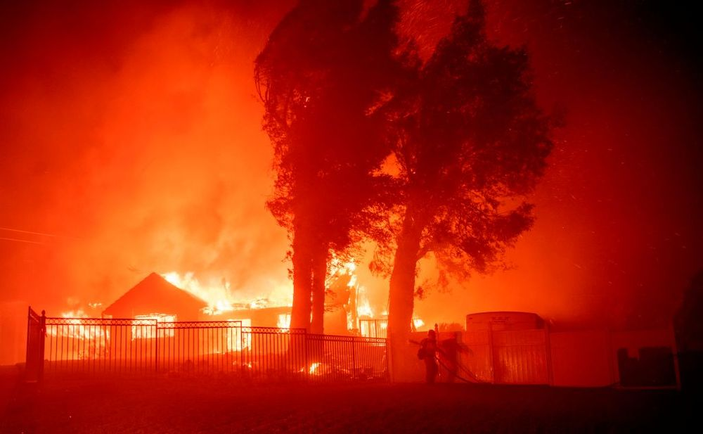California Fires Rage On, Set To Get Worse
