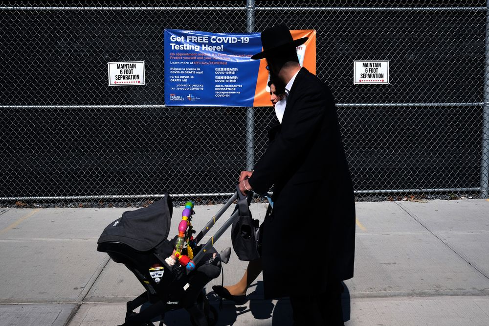 NYC Warns Shutting Down of Non-Essential Businesses in Jewish COVID Hotspots