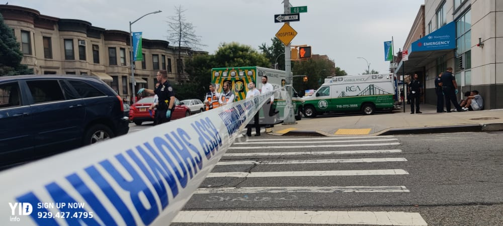 One injured, one dead in a fatal Stabbing in Boro Park.