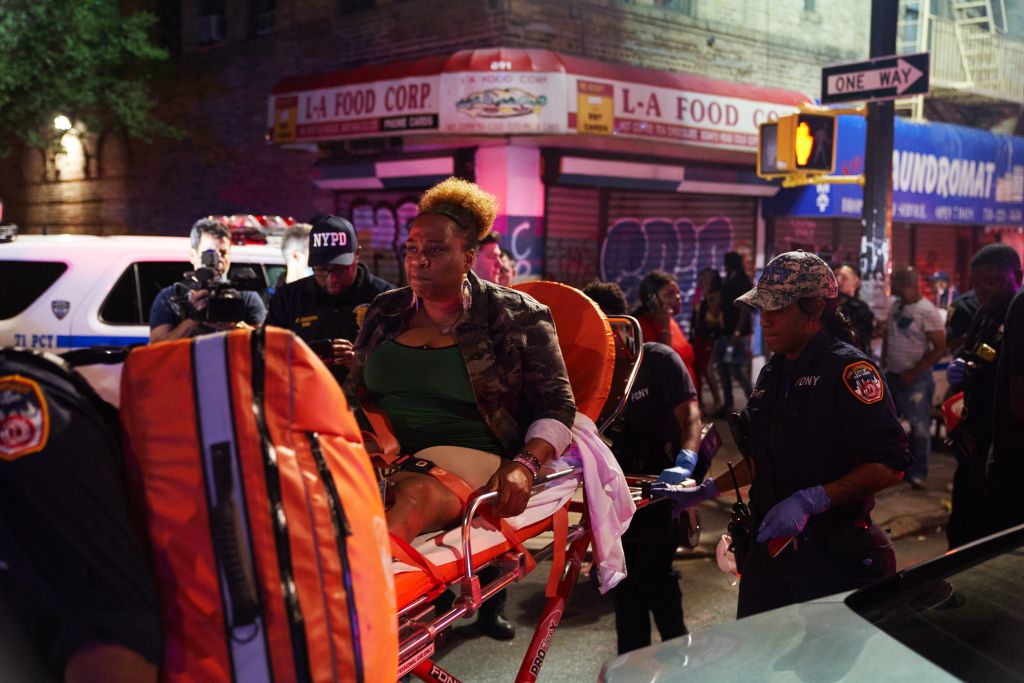 5 Shot At The Brooklyn J'Ouvert celebration