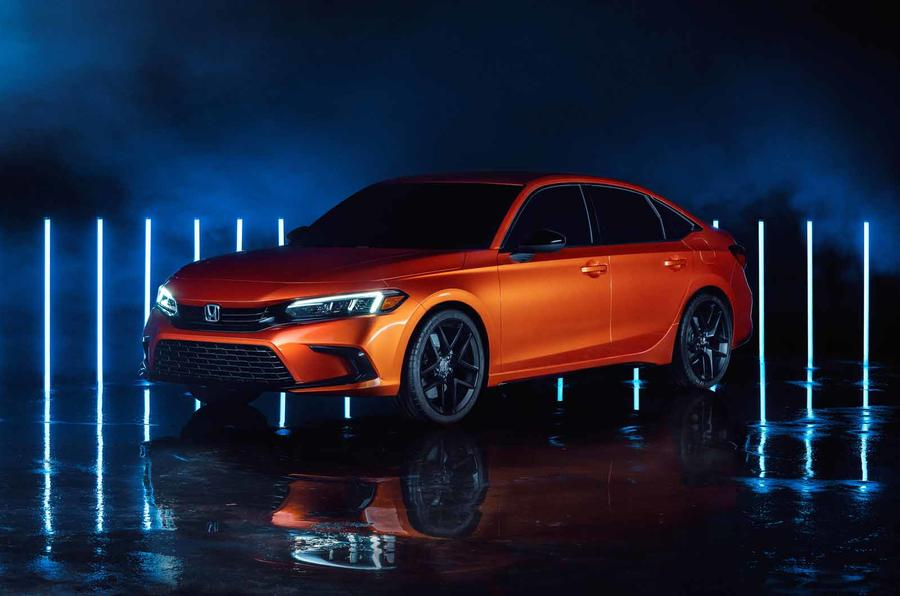 2022 Honda Civic Prototype Revealed, Automaker Takes The Car Up a Notch