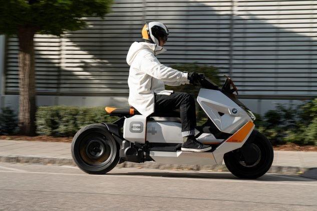 BMW Reveals Motorrad Definition CE 04: Its Ultra Futuristic Scooter