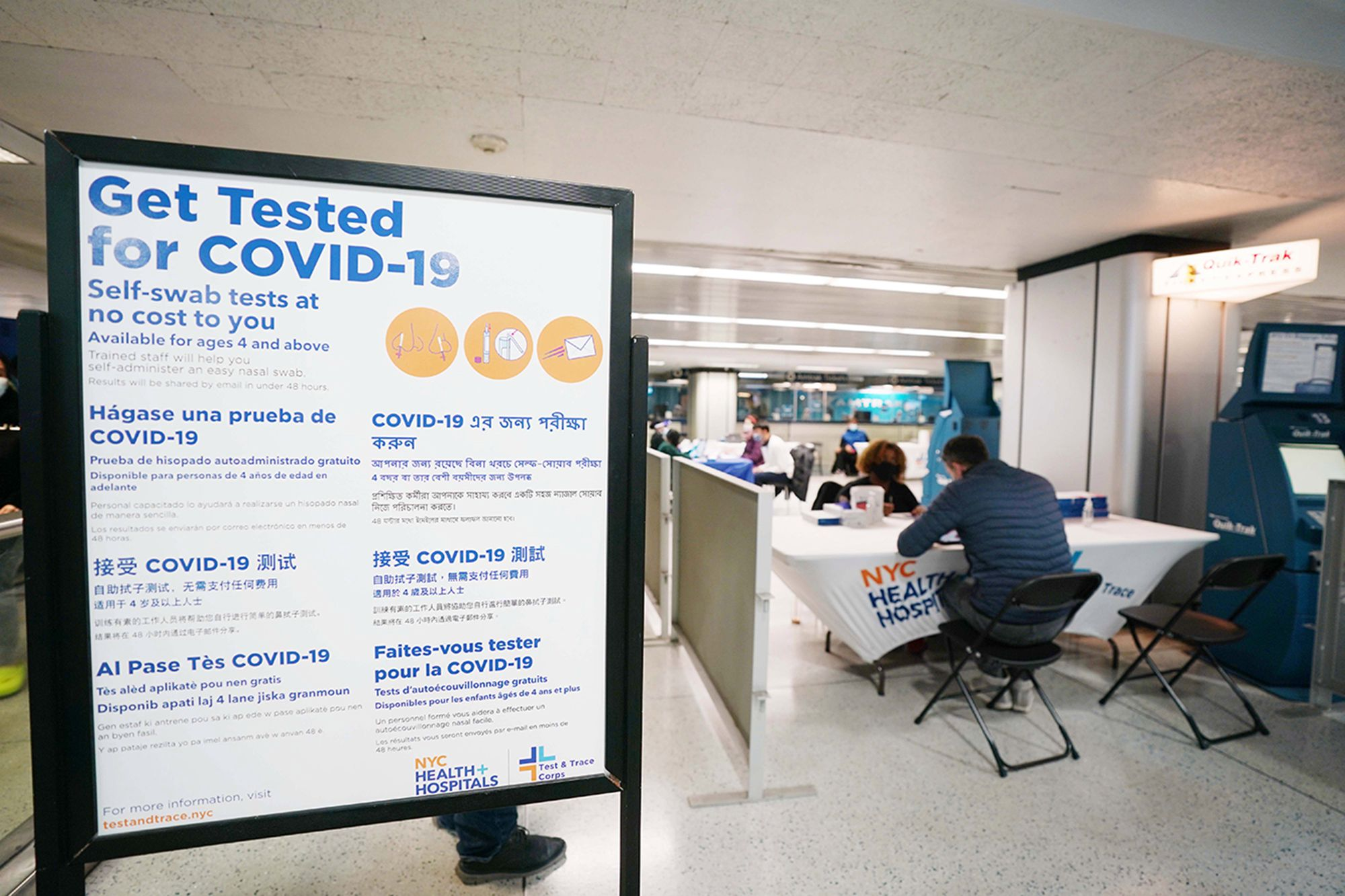 NYC Opens 25 More COVID Testing Sites To Shorten Lines