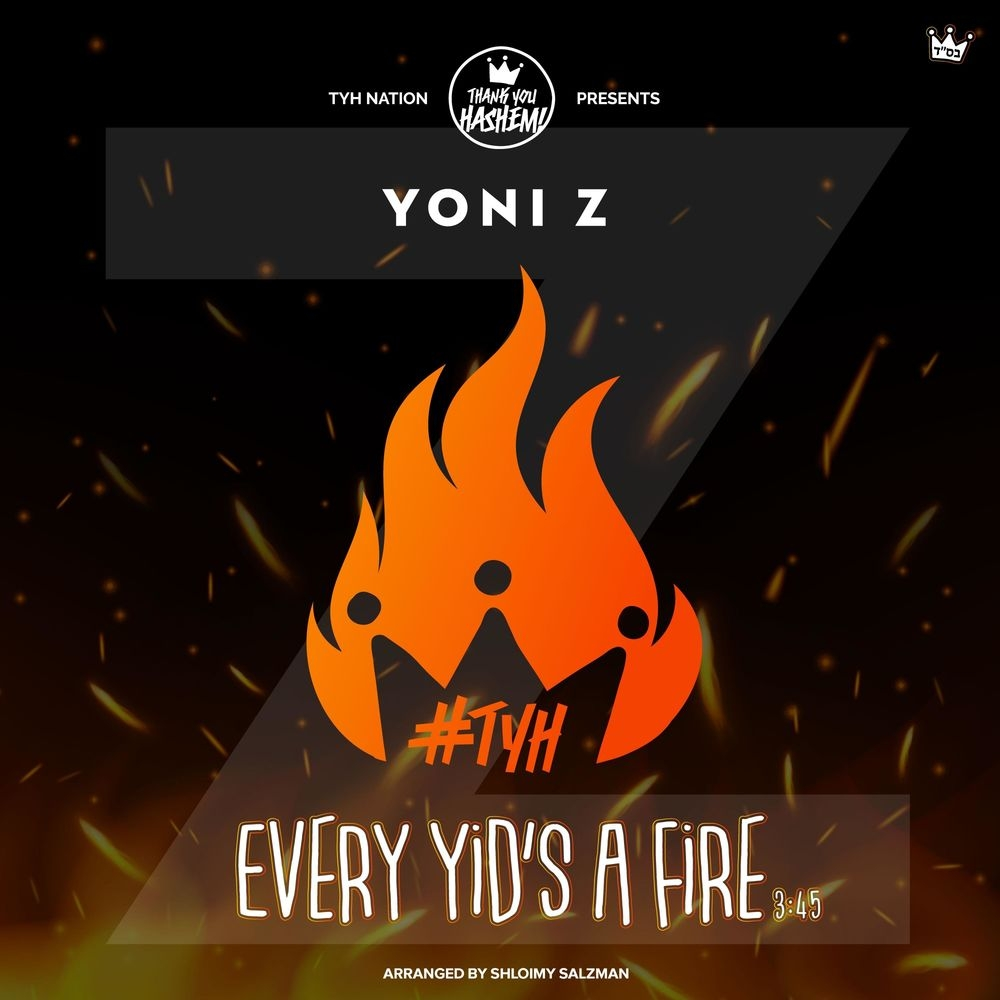 """Yoni Z With A New Single """"Every Yid's A Fire"""""""