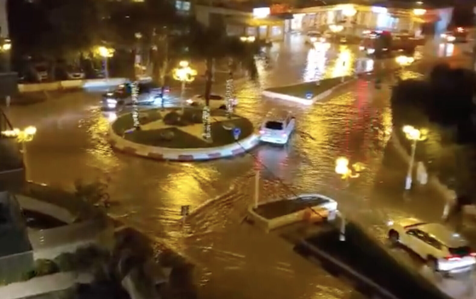 Record-Breaking Rains Cause Flooding In Israel, Expected To Slow Down