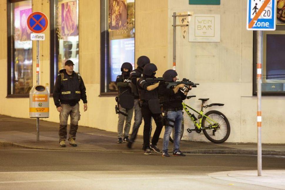 Vienna's Suspected Anti-Semitic Terror Attack Kills 4, Injures 15