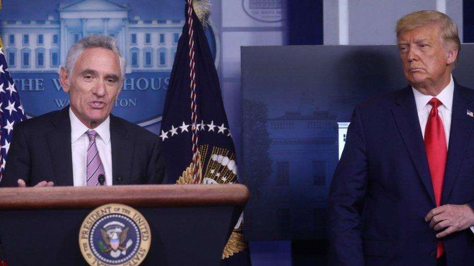 President Trump's COVID Advisor Scott Atlas Resigns