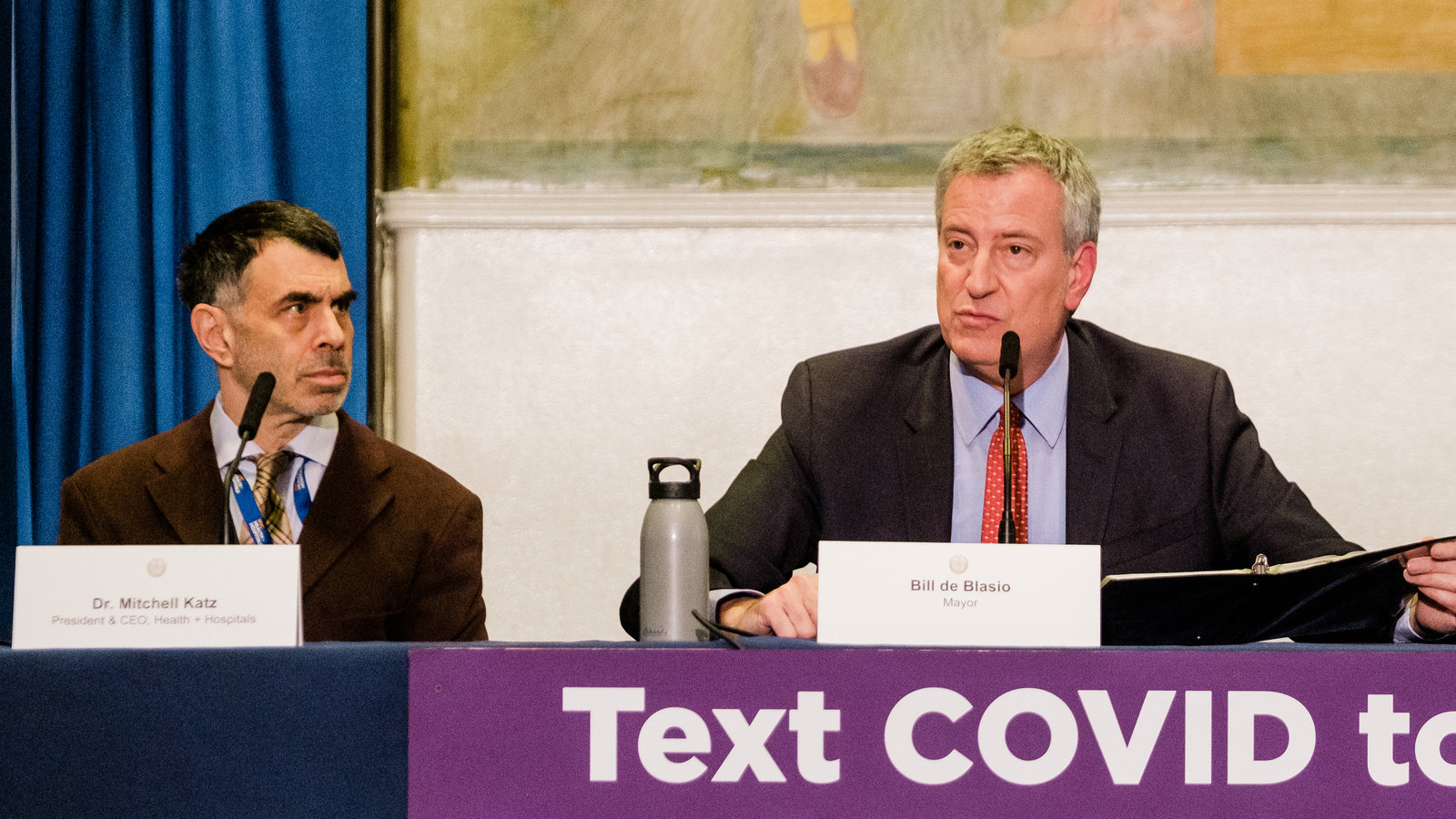 NY Health Commissioner Rejects De Blasio's Plea To Offer Shot Reserve To Citizens