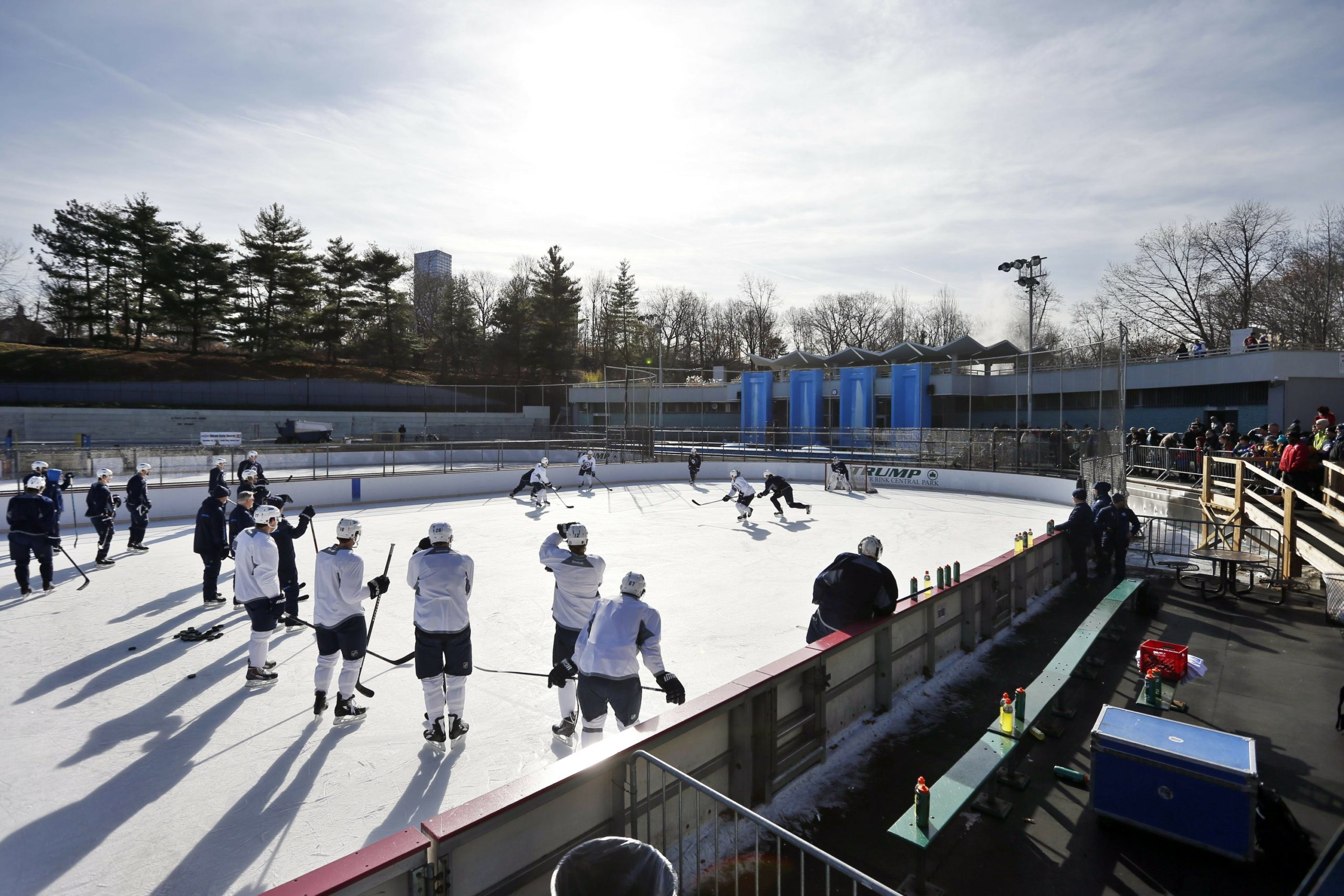 Trump-Owned Ice Rinks To Remain Open in NYC Despite de Blasio's Attempted Closure