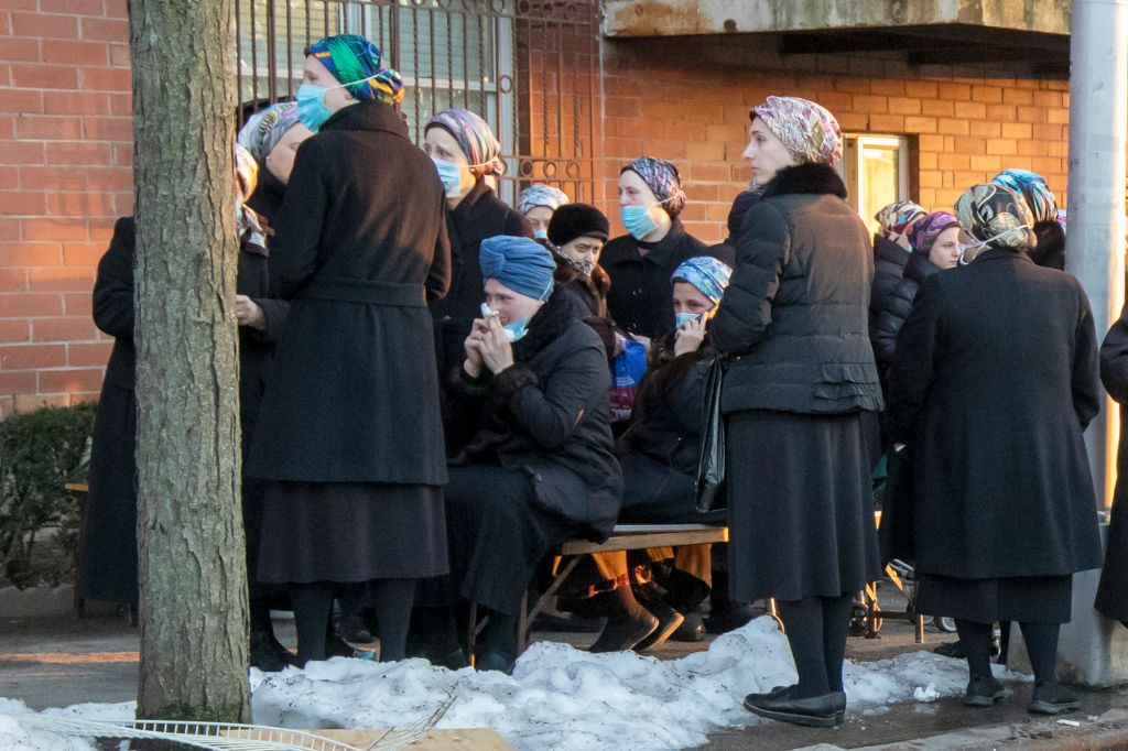 """Mourners Gather At Brooklyn Synagogue For Funeral of """"Special Child"""" Hit By Bus"""