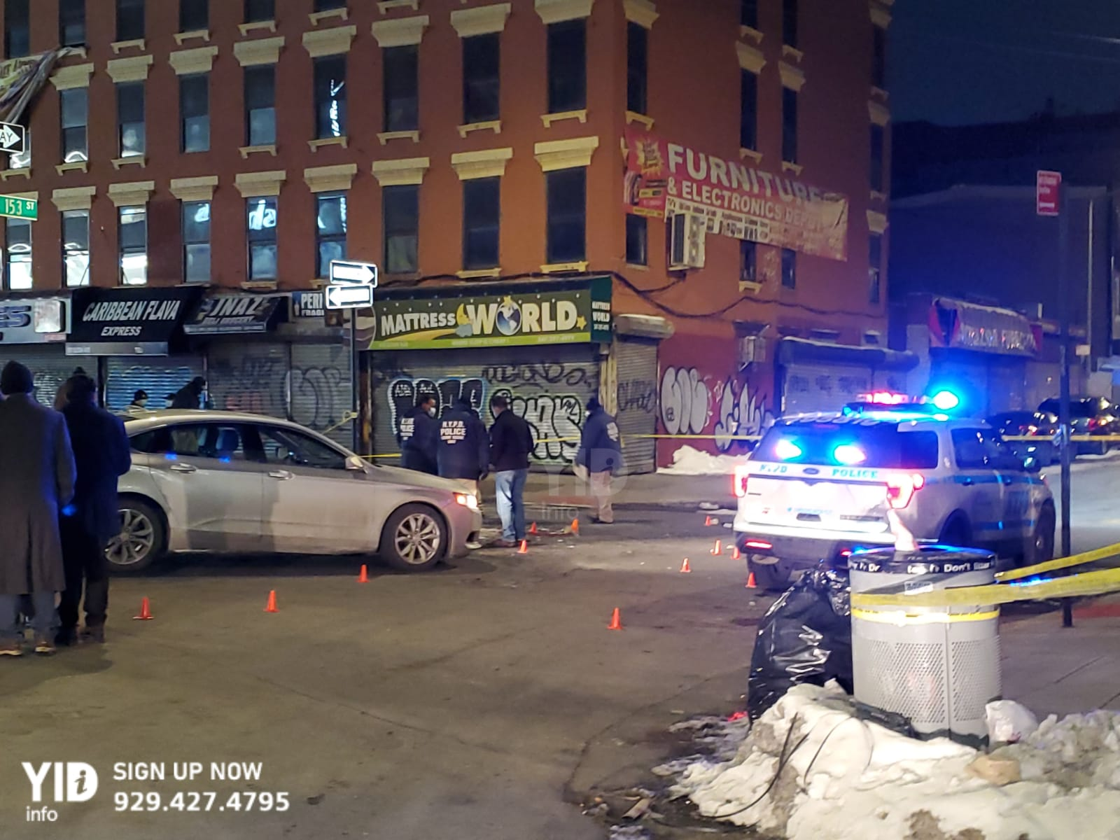 Armed suspects shoots at Police in the Bronx while police try to initiate an arrest.
