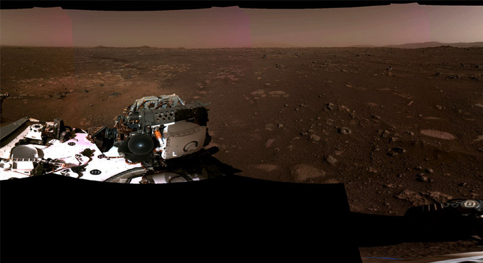 NASA Releases First High-Quality Video Of Mars Landing