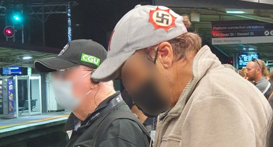 Anger Sparks Over Photograph Of Man Wearing Swastika Hat In Australia