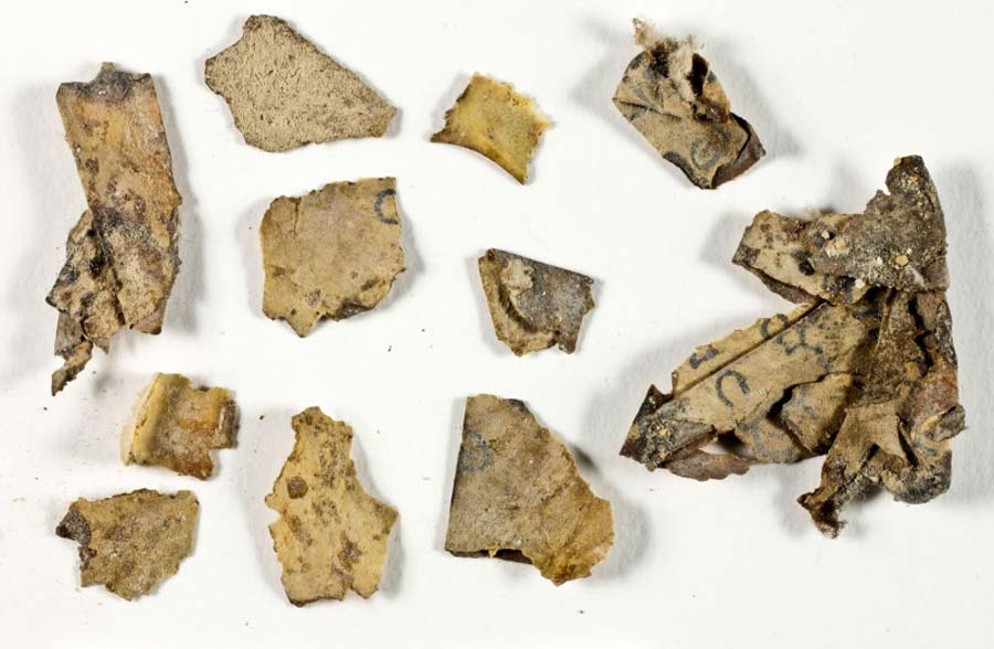 Several Symbolic Dead Sea Scroll Fragments Discovered In Judean Cave