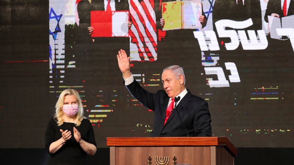 Top Israeli Exit Polls Suggest Advantage For Right-Wing, Netanyahu Claims Win