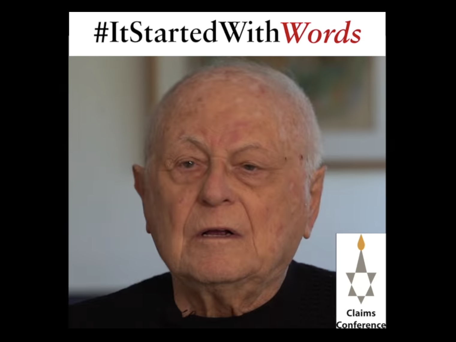 On Holocaust Remembrance Day, Survivors Initiate #ItStartedWithWords campaign To Tackle Spread of Antisemitism on Social Media