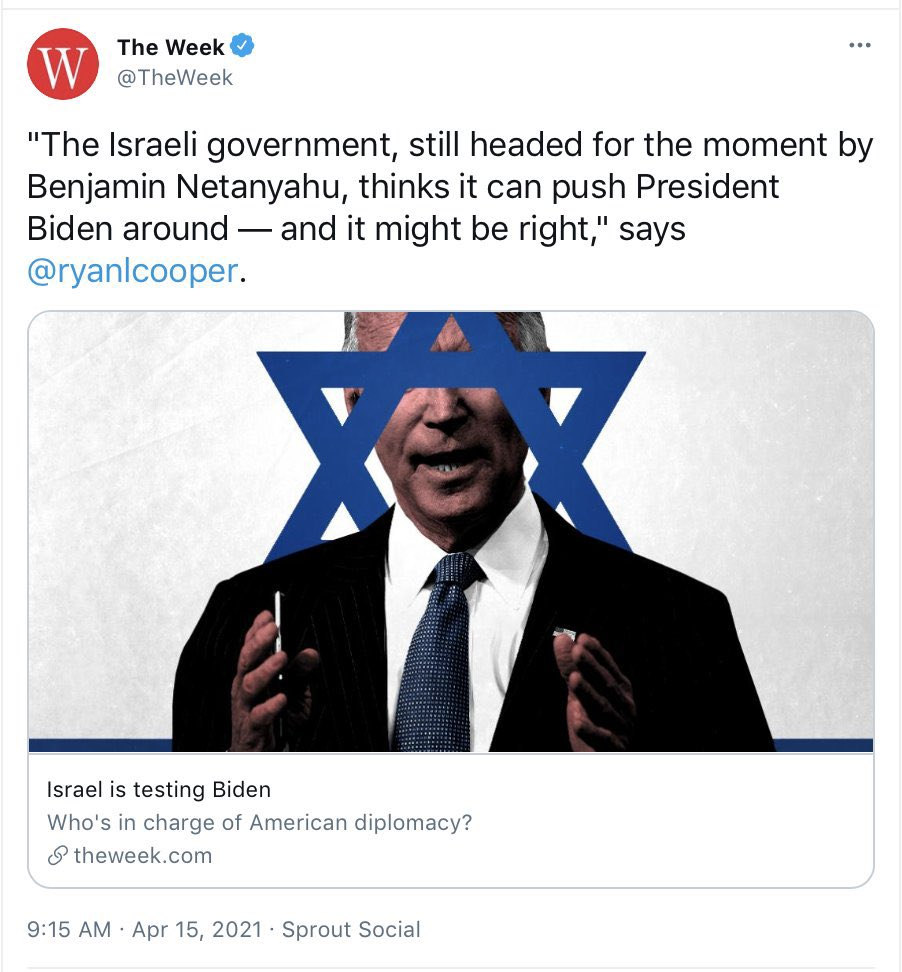 'The Week' Takes Down Biden Star Of David Graphic After Backlash From Jewish Community