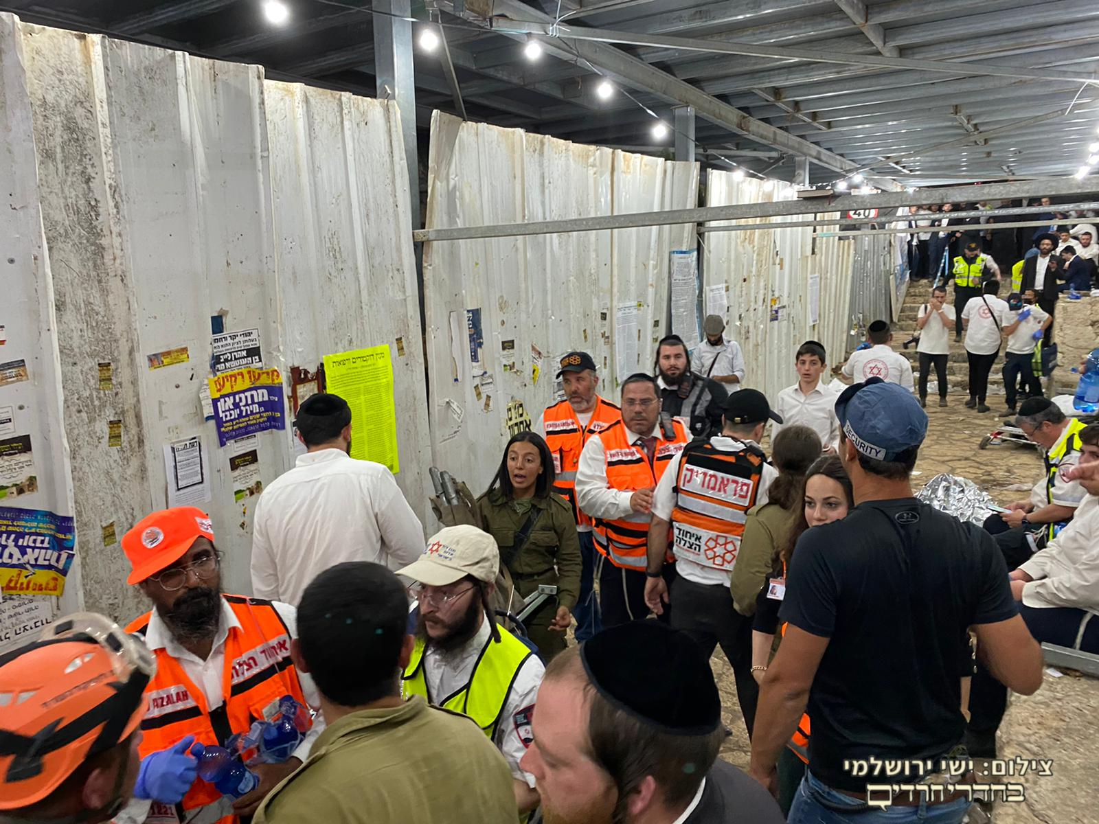 FOOTAGE: Hundreds of people are injured after a bridge collapsed now in Miron