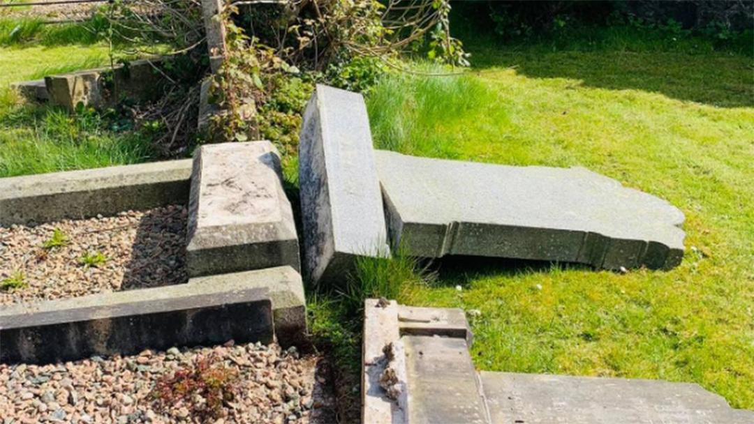 10 Jewish Gravestones Found Shattered In Northern Ireland