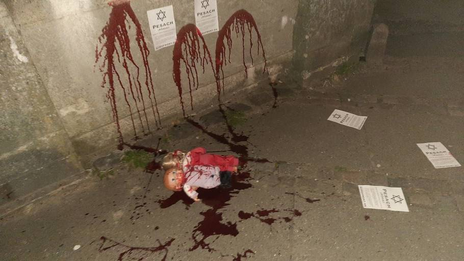 Passover Hate Crime: Jewish Cemetery In Denmark Vandalized With Hung Dolls and Red Paint