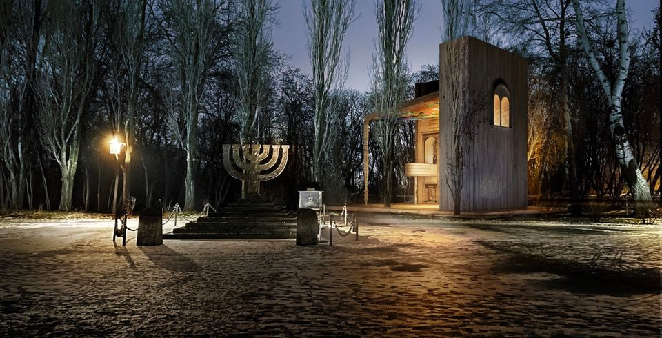 Historic New Synagogue Unveiled At The site of the Babyn Yar Nazi massacre in Kiev