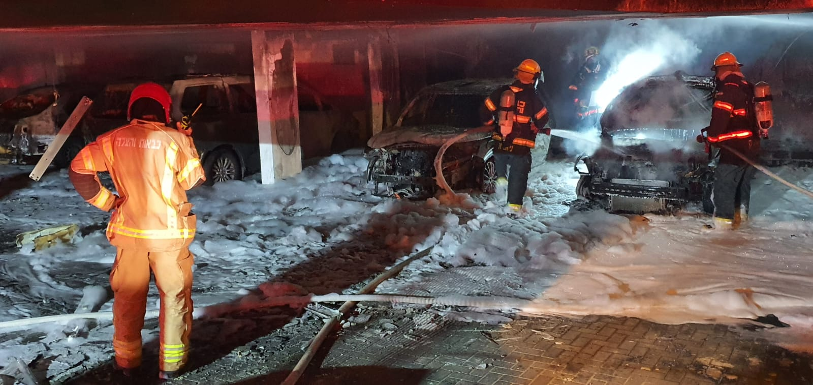 BREAKING IN HAIFA, ISRAEL: At least 59 people injured in suspected arson attack by local Arabs.