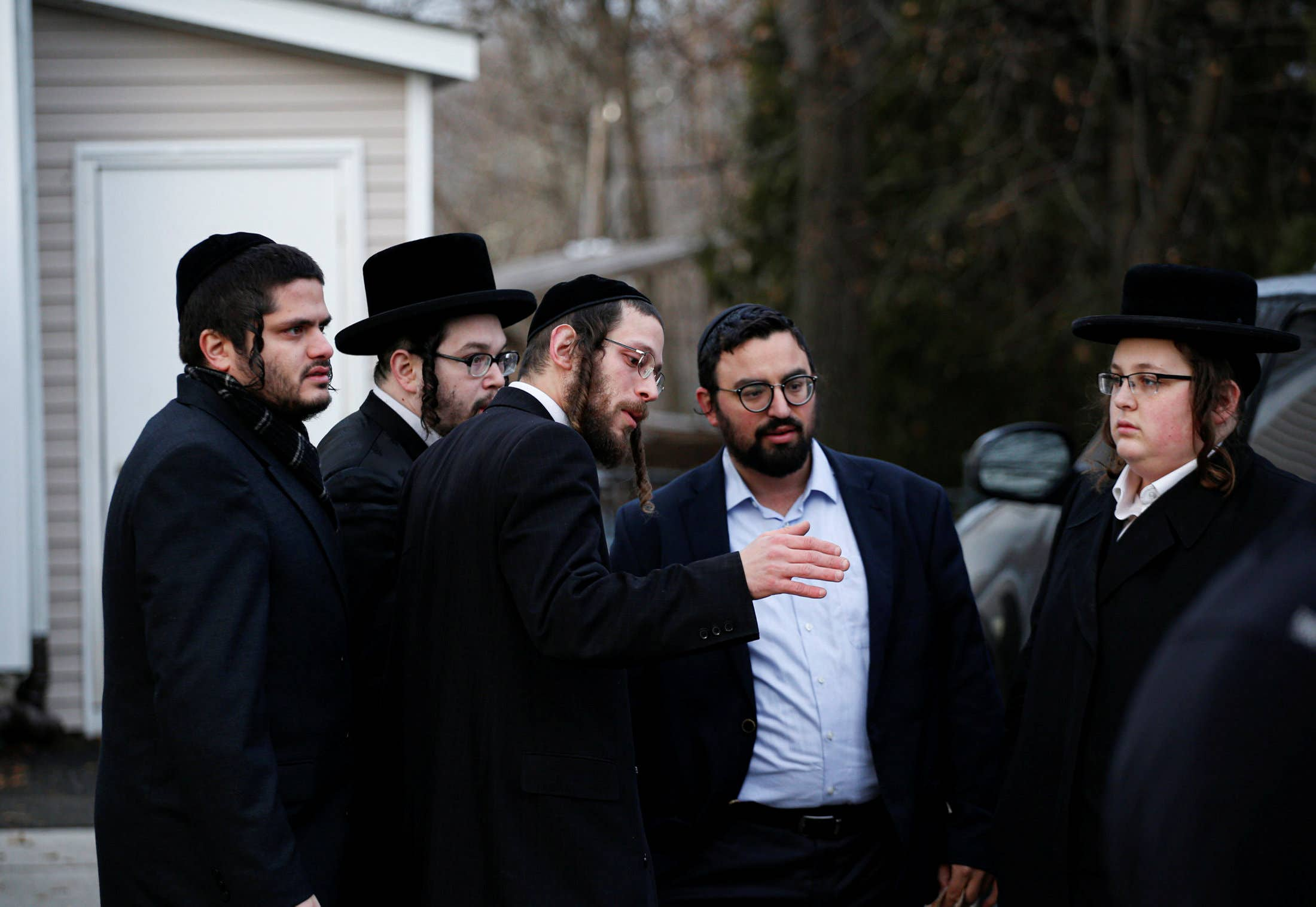 """Anti-Semitic Chalk Drawings Stating """"Hitler Is Coming"""" Found In Monsey"""