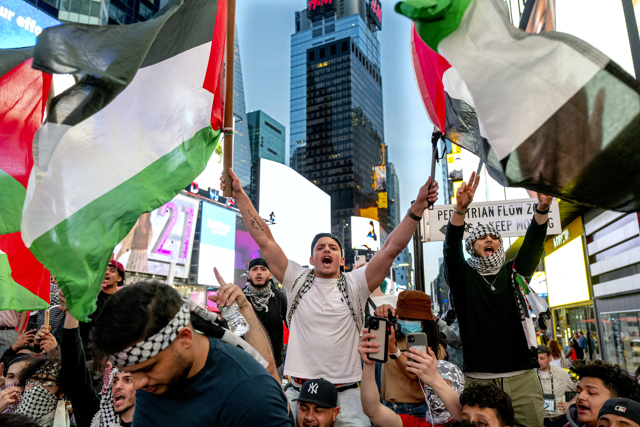 Jewish Man Attacked By Pro-Palestine Protesters In Midtown