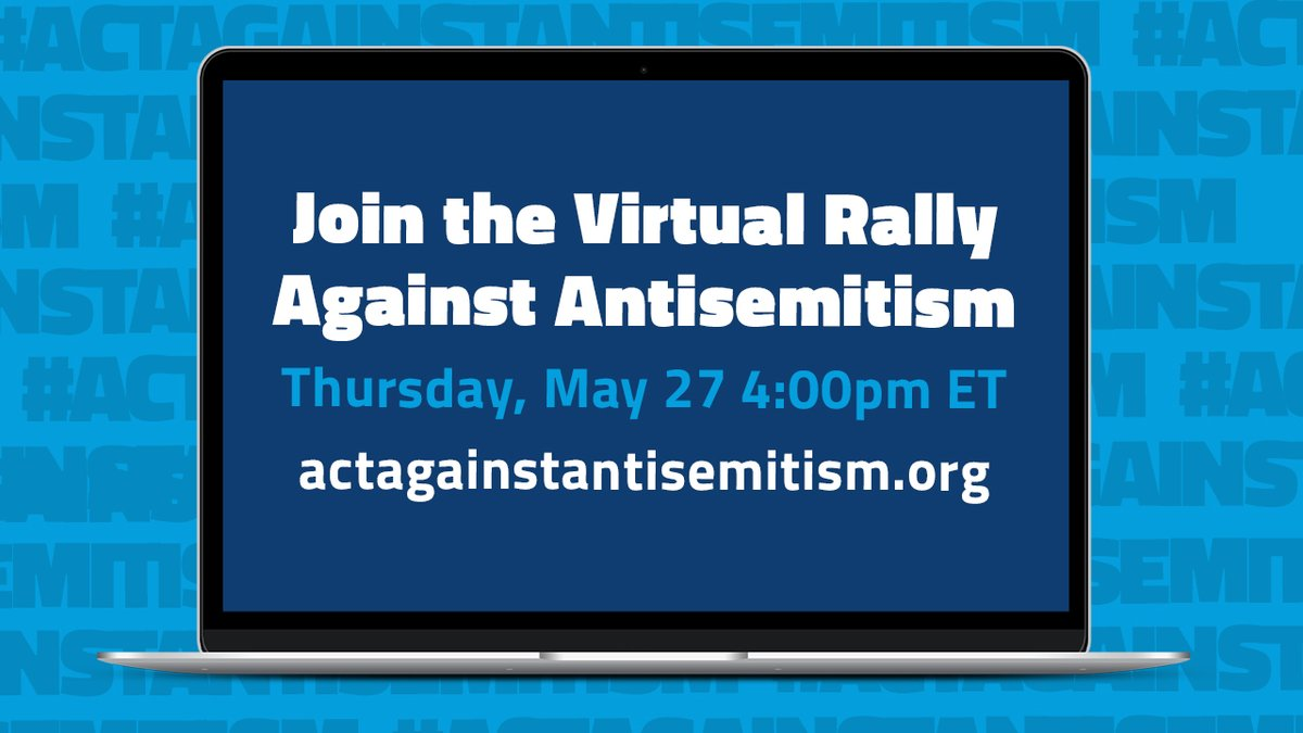 Thousands of Americans To Partake Global Virtual Rally Against Antisemitism