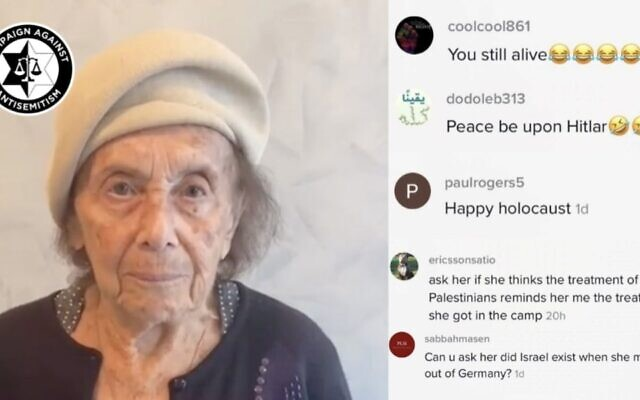 97-Year-Old Holocaust Survivor Gets Hate Comments on TikTok For Wishing Shabbat Shalom