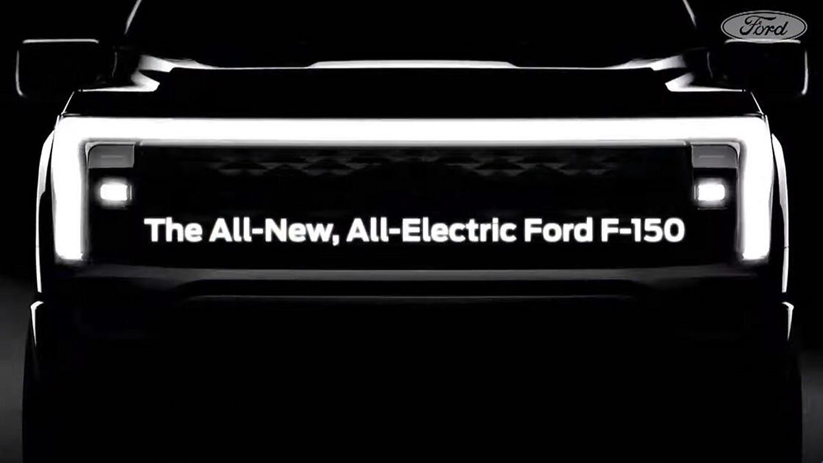 Ford Announces The Name of Its First-Ever Electric Pickup Truck