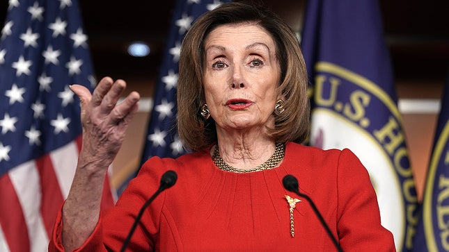 Nancy Pelosi Reiterates Israel Has The Right To Defend Itself After Over 100 More Rocket Attacks By Palestinian Terrorists