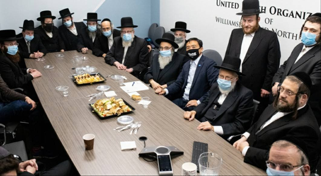 HISTORIC – Leaders Of Main Jewish Williamsburg Sects, Including Both Satmar Groups – Endorse Andrew Yang For NYC Mayor, Unifying Brooklyn's Hasidic Community In Historic Alignment