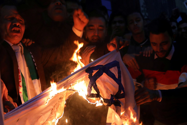 Islamic Group Stages Nazi-Like Protest Against Israel In Germany