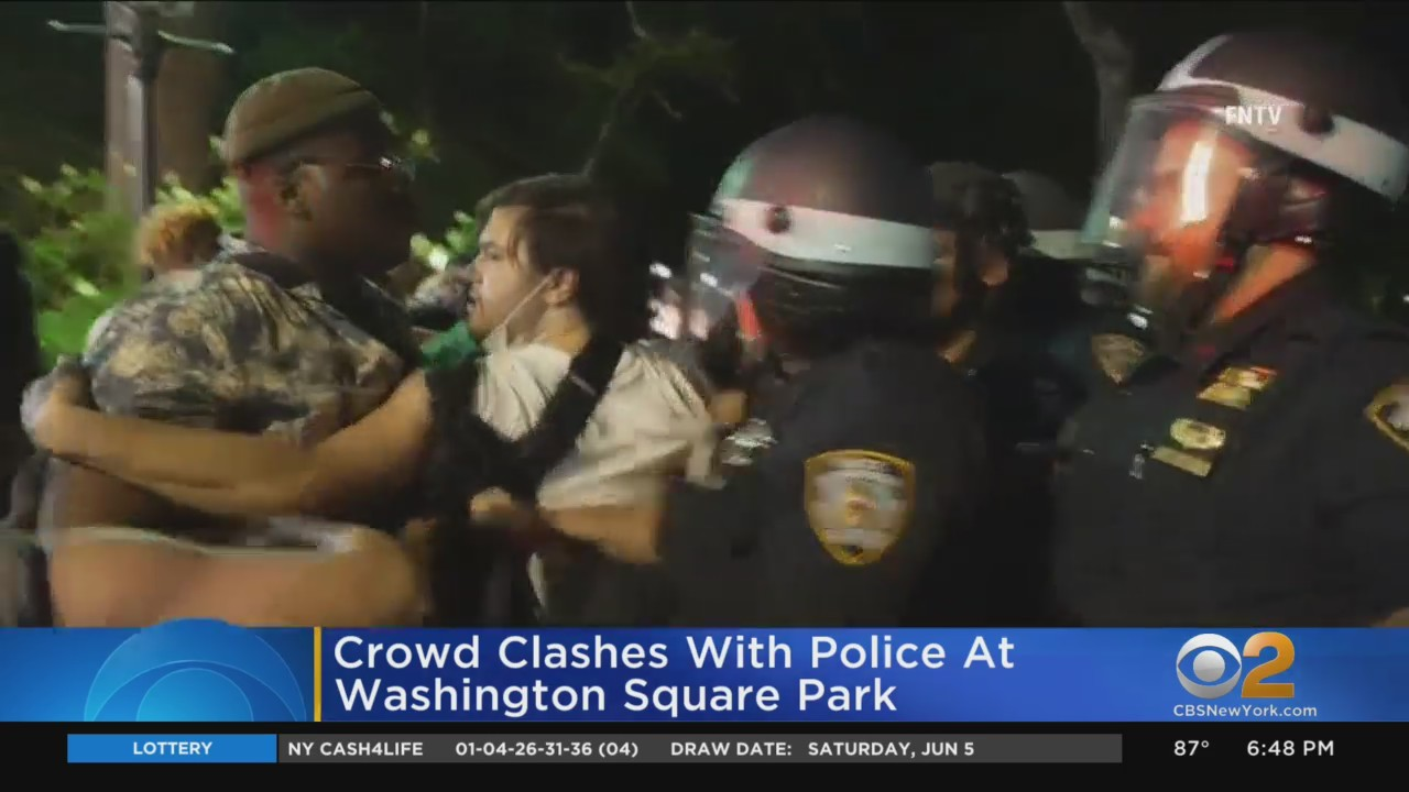 NYPD: 23 People Arrested At New York's Washington Square Park