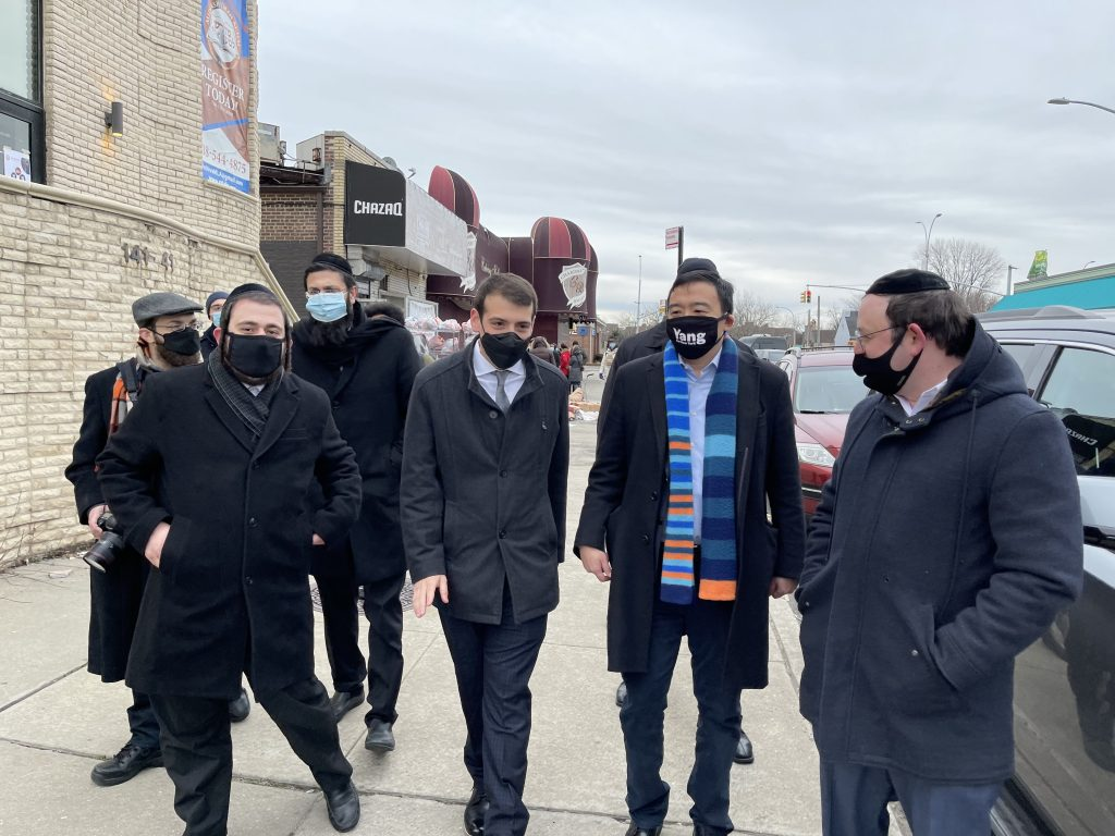 Queens Jewish Alliance for Action Endorses Andrew Yang For Mayor