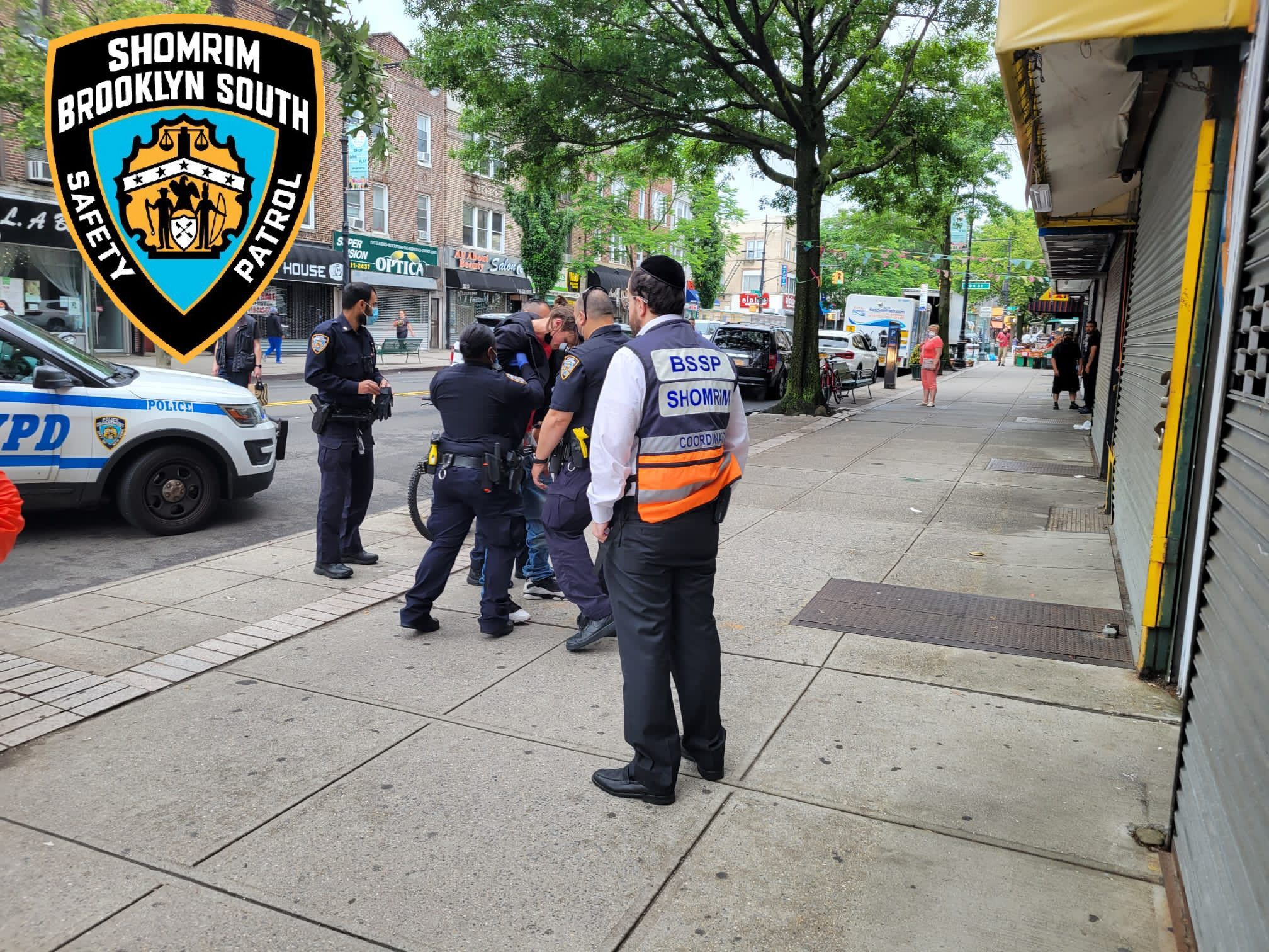 Car theif arrested by Boro Park Shomrim
