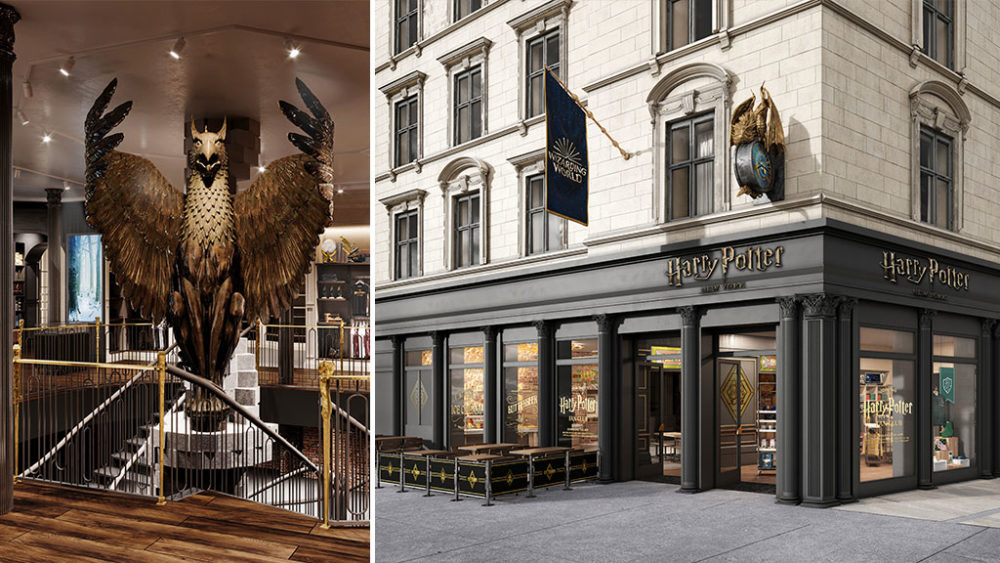 World's First Harry Potter Flagship Store Opens In New York