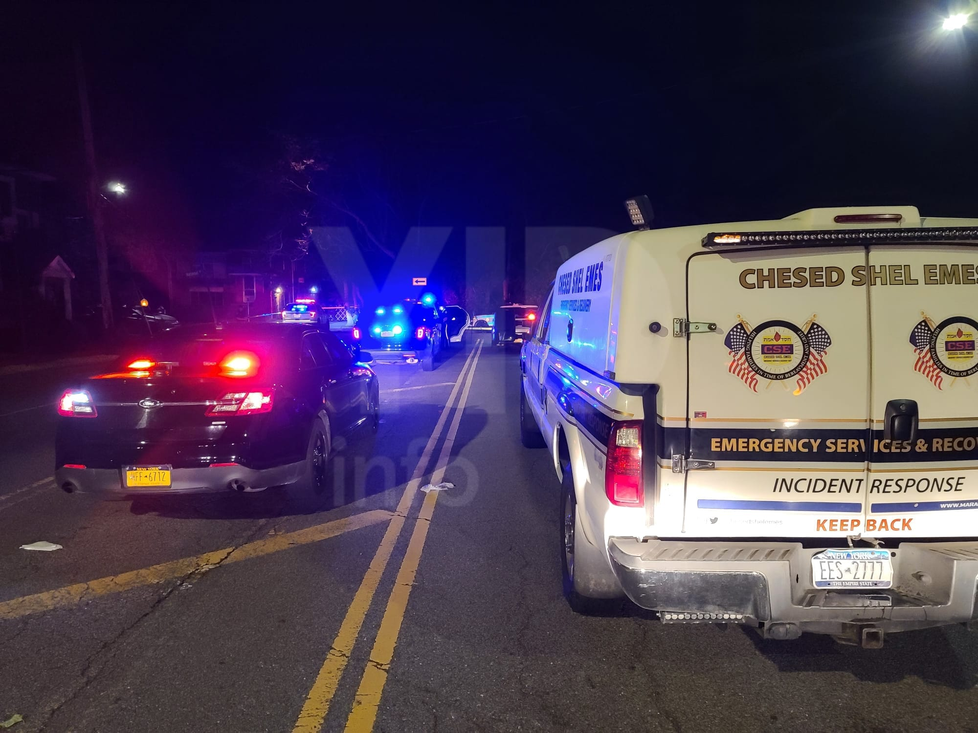 TRAGEDY IN CANARSIE: Jewish teen killed in fatal car crash, 4 others injured.emains on the scene where police are trying to put together the entire story.