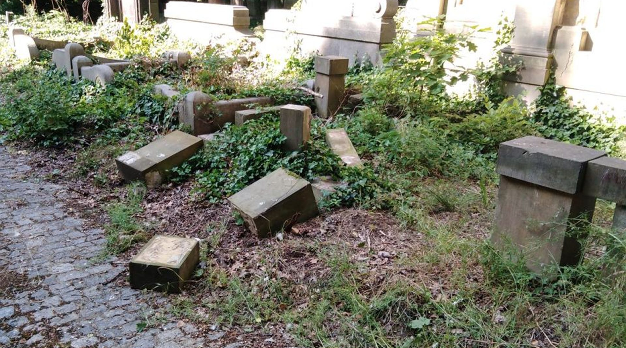 """Hate Starts Young: Polish Children Desecrate Dozens of Jewish Headstones To Build A """"Fortress"""""""