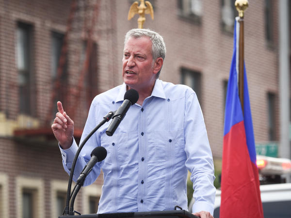 De Blasio To Issue Local Guidance on Vaccines And Masks Next Week
