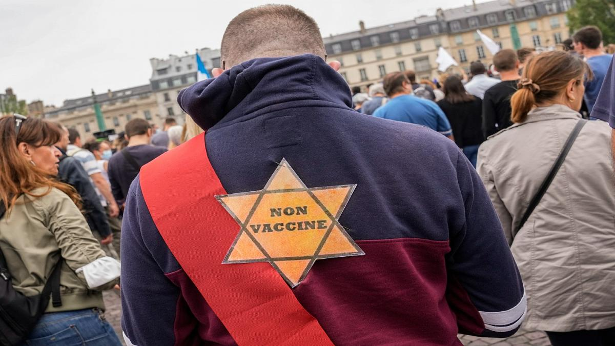 French Anti-Vaxxers Slammed For Linking Vaccine To Holocaust