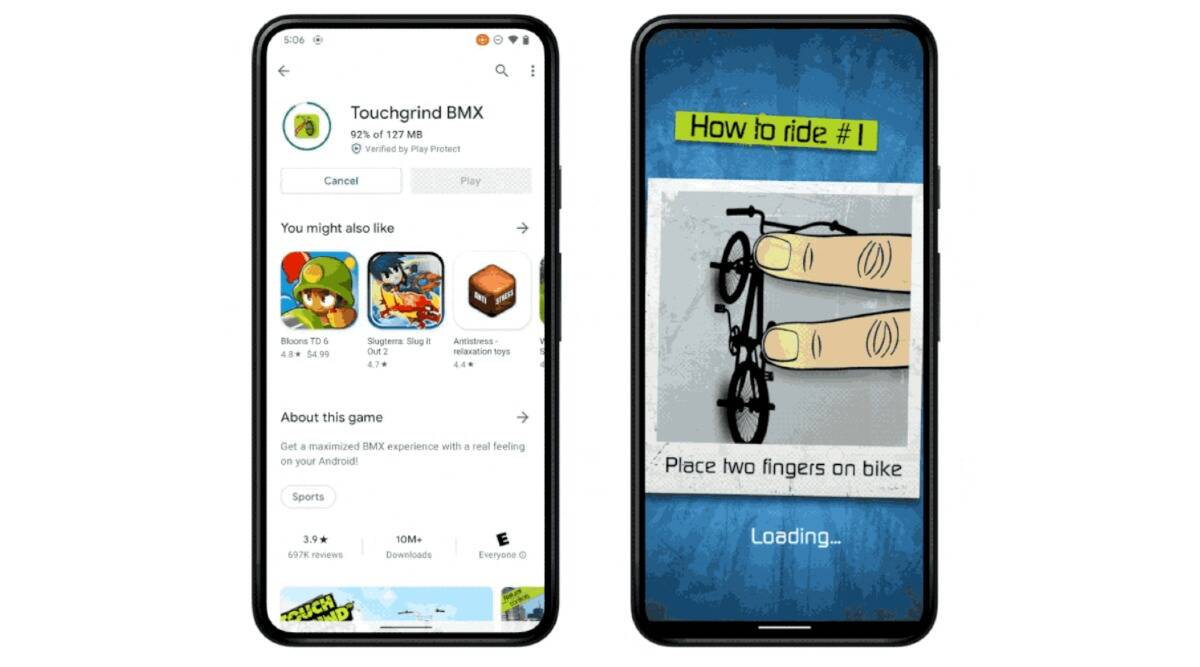 Android 12 To Let Users Play Games While Downloading Them