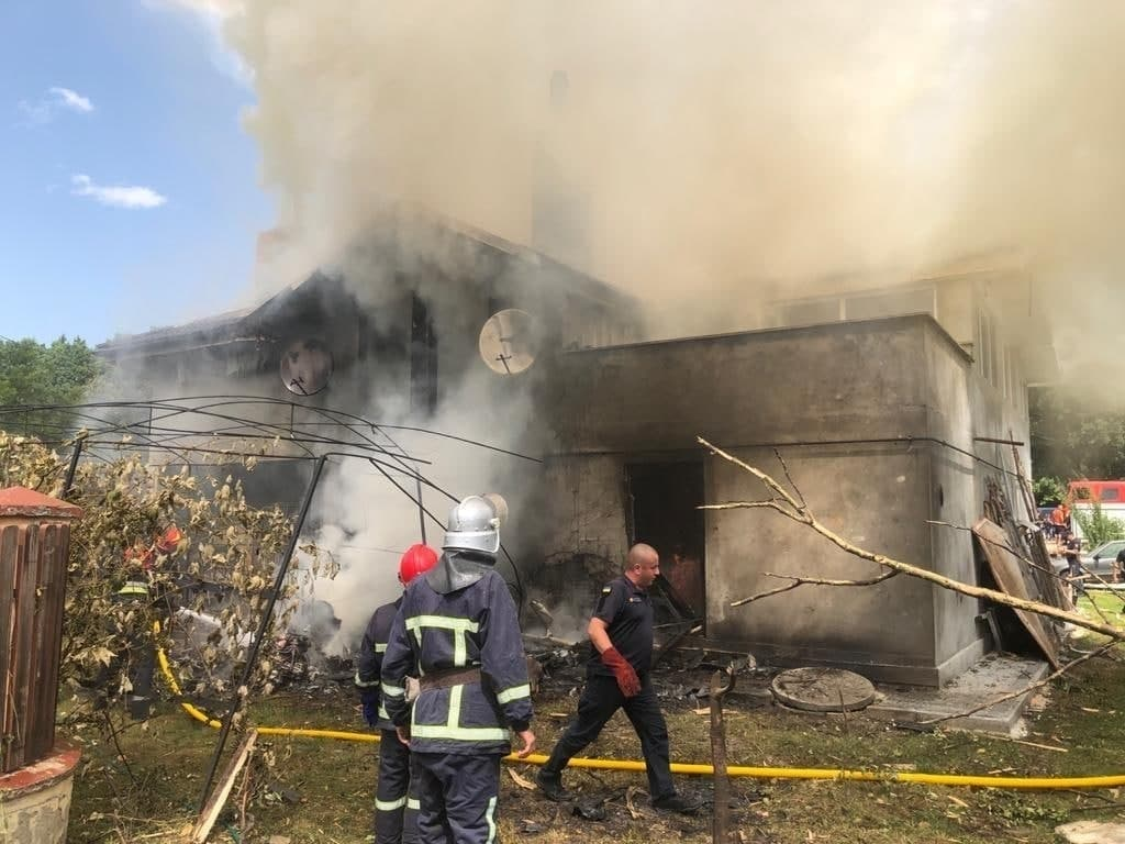 3 Jewish students were reported killed after a plane crash at a house in Ukraine