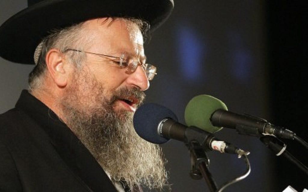 Chief Rabbi of Tzefat Assaulted By Arabs In Jerusalem