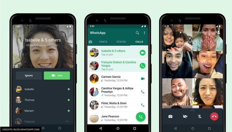 """WhatsApp Launches New Features For """"Group Calling"""""""