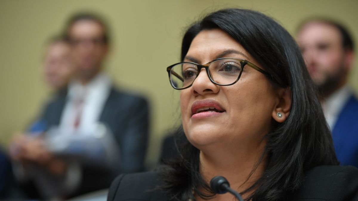 Misconstruing Yet Another Incident, Antsemite Rep. Tlaib Posts Fresh Hate On Twitter