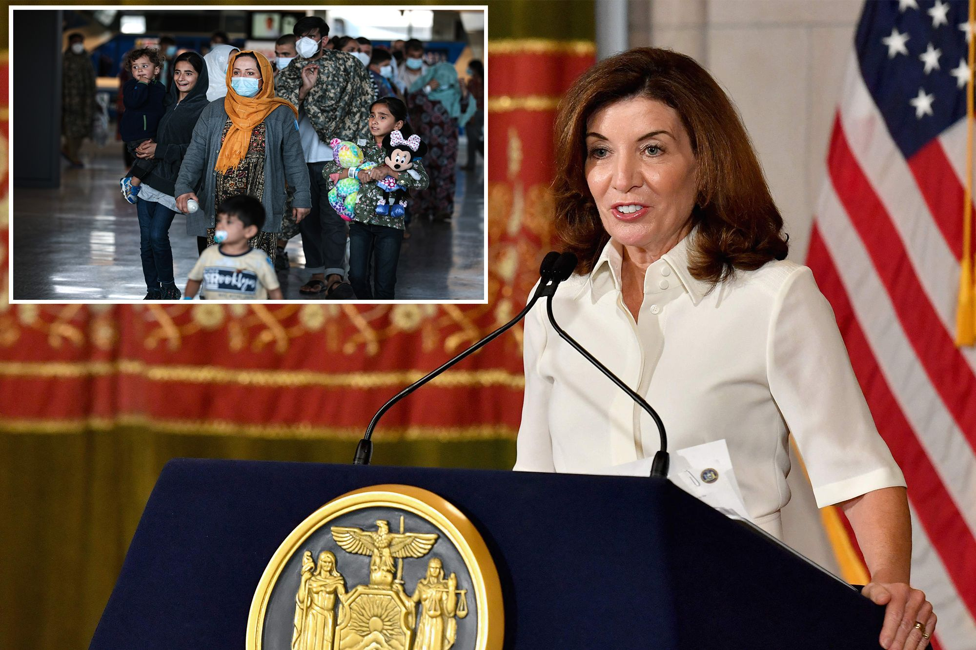 New York Set To Welcome More Than 860 Afghan Refugees: Says Hochul