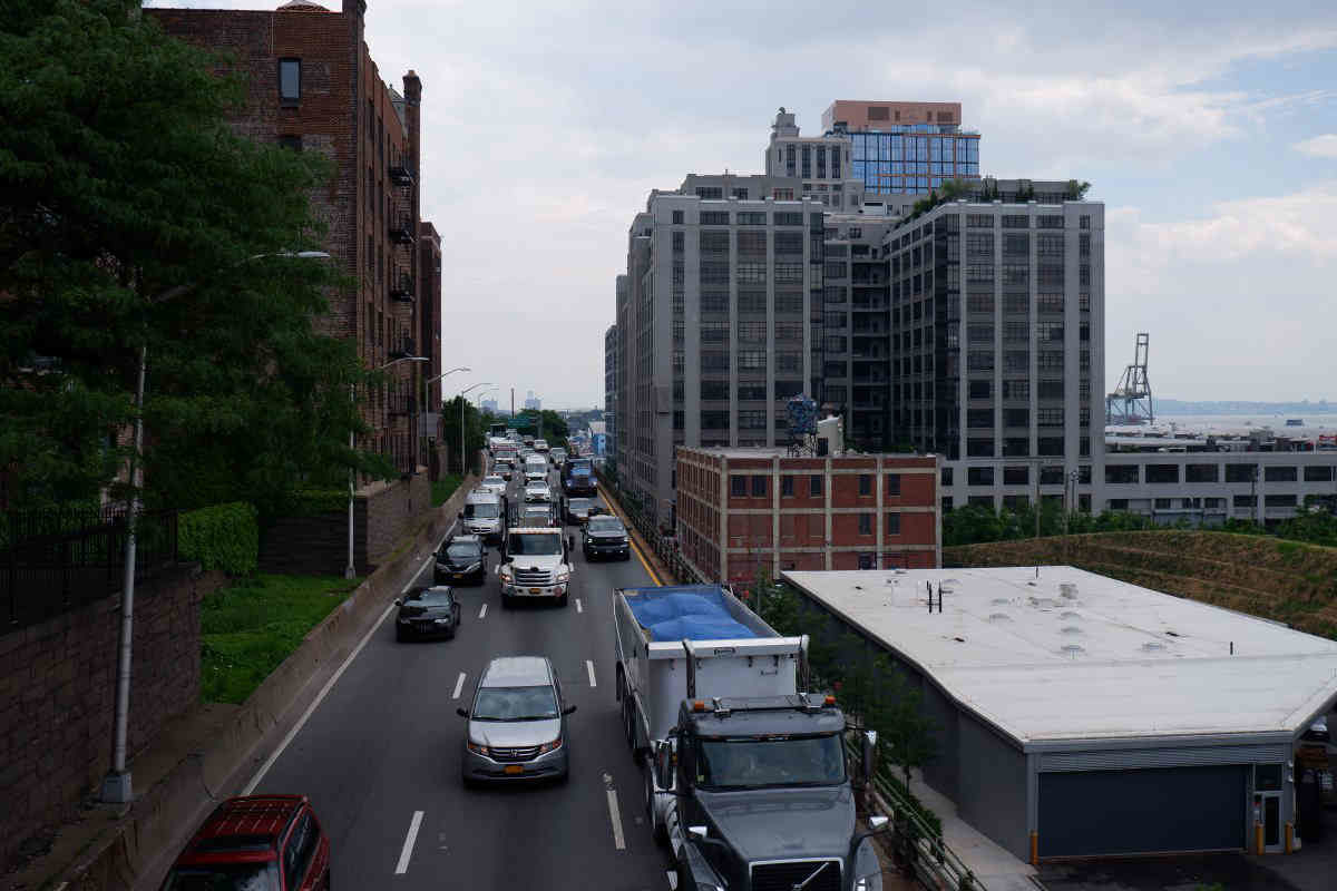 BQE lanes will be reduced from 3 to 2 lanes to lessen the impact on 67-year-old road