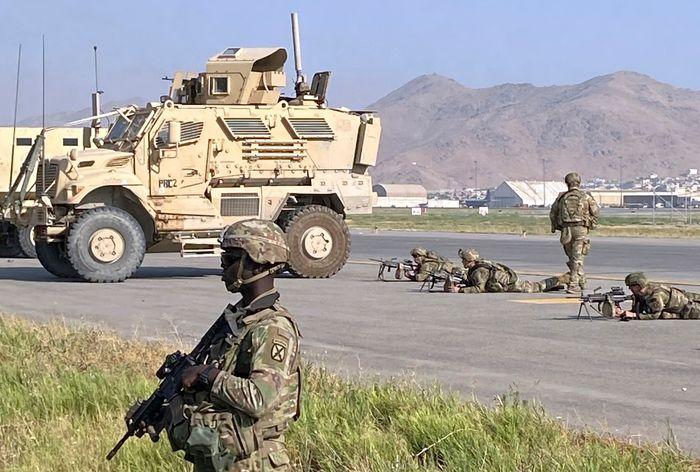 Troops To Stay In Afghanistan Until All Americans Evacuated